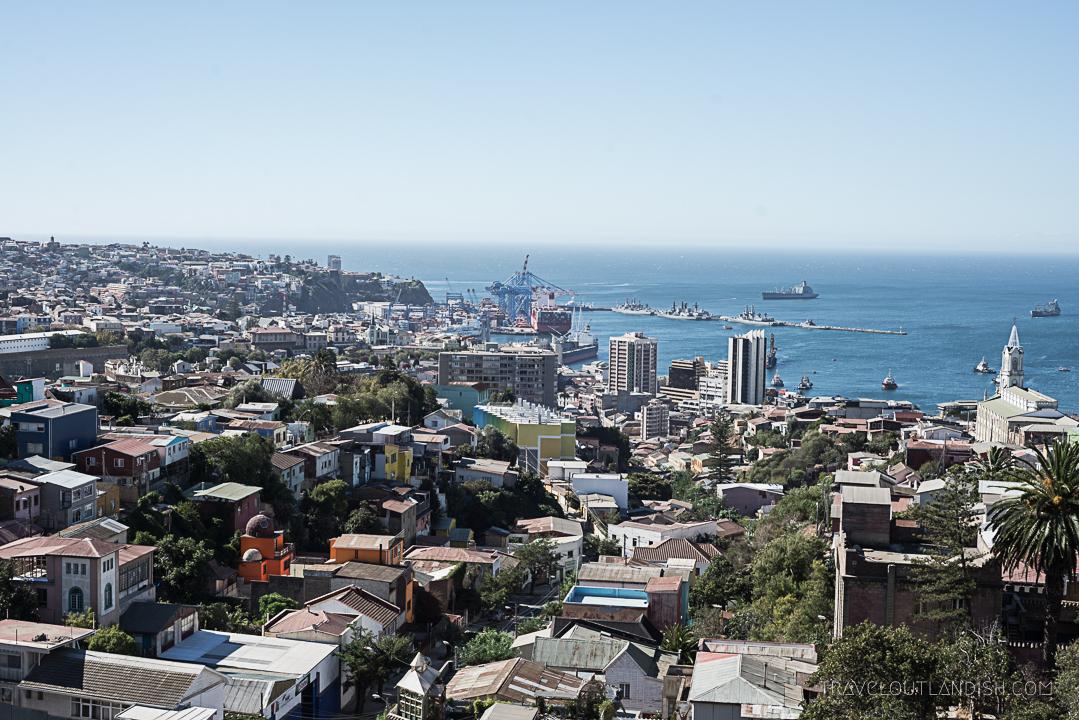 Photos of Chile - Valparaiso City View