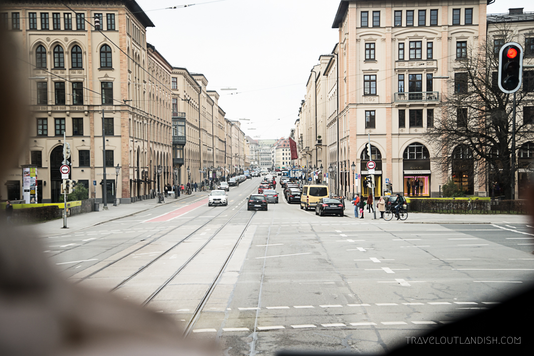 Munich Sightseeing Bus - Street Photography