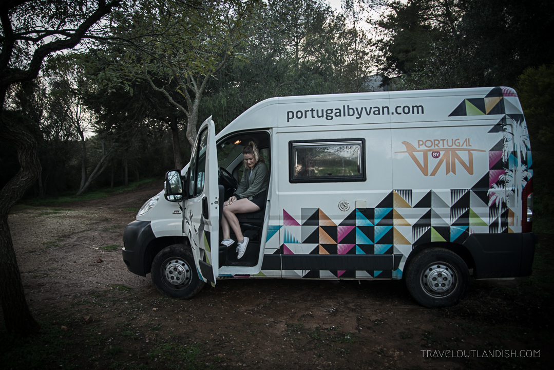 Portugal Campervan Hire - Campervan Exterior