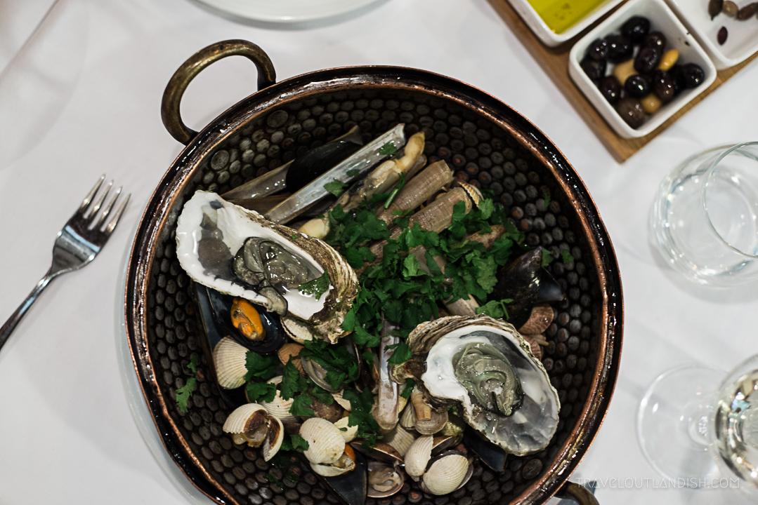 Restaurants in Cascais - Seafood at O Pescador
