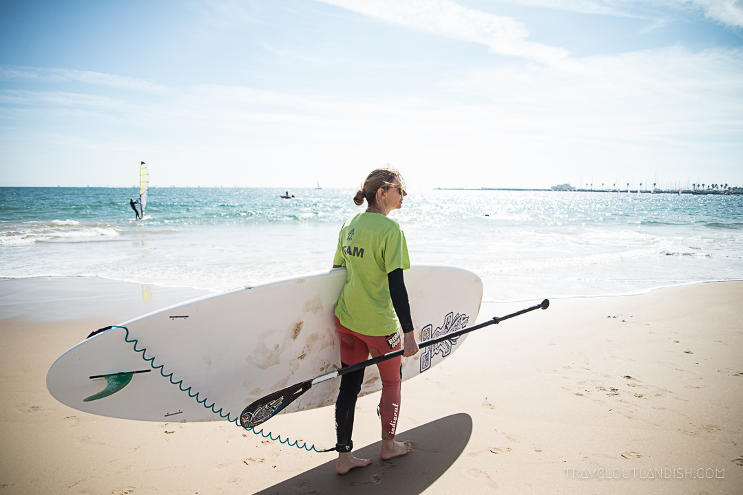 Stand Up Paddling in Portugal