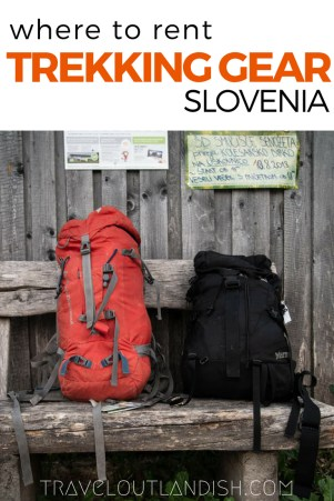 Looking to rent gear for your trek in Triglav National Park? Here's where you can rent via ferrata equipment and camping gear in Bled or Bohinj, Slovenia