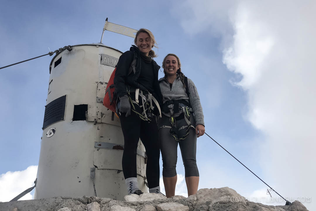 Hiking in the Julian Alps - Summit of Triglav