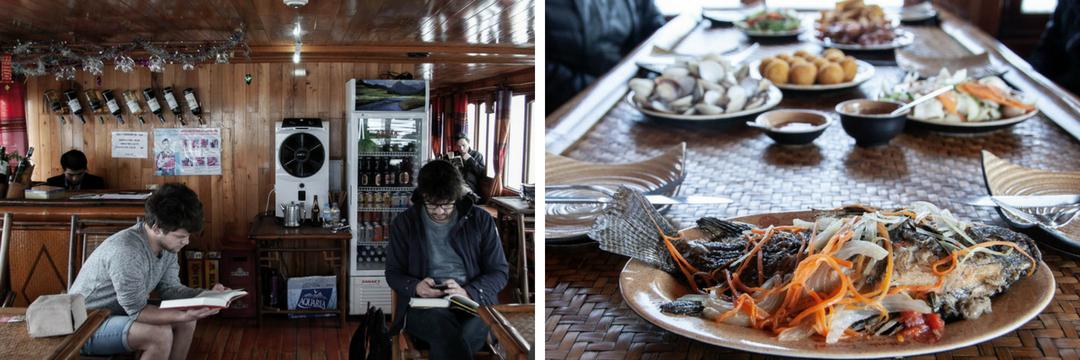 Bai Tu Long Bay Cruise - Food