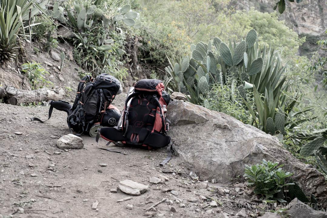Renting Gear in Cusco - Choquequirao Trekking Bags