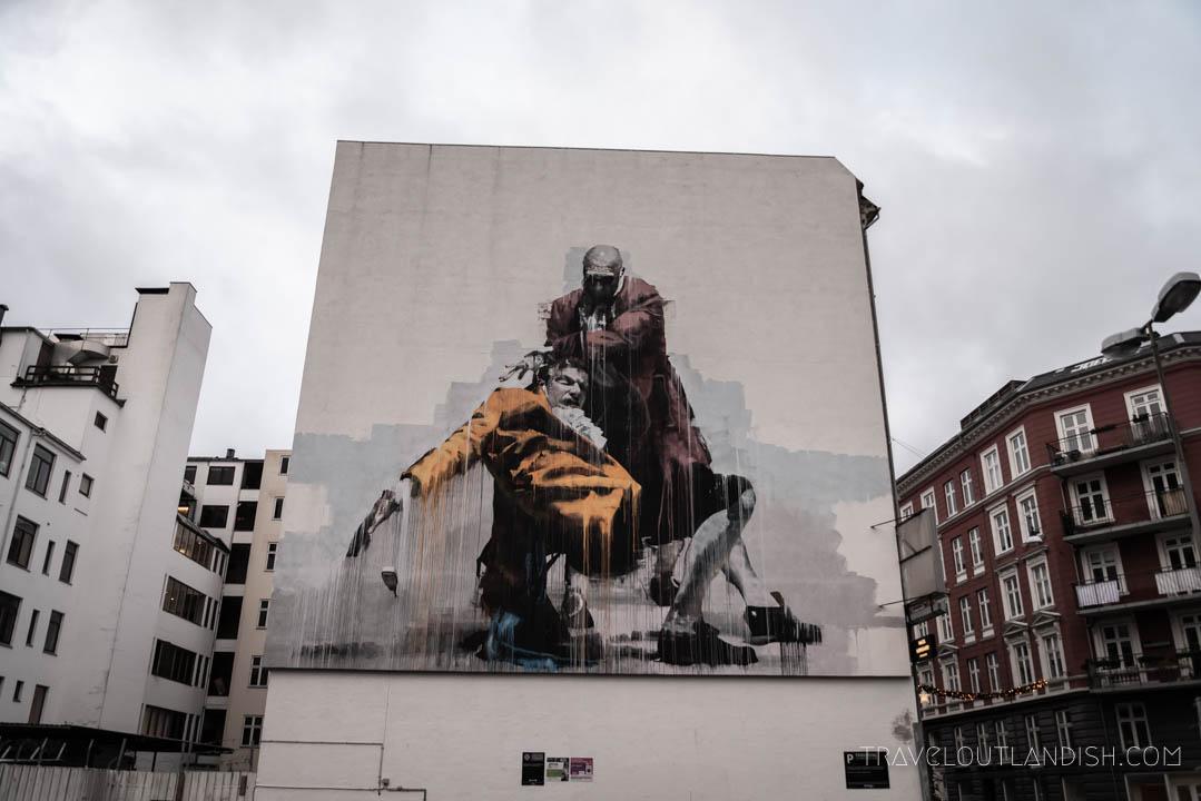 Murals in Copenhagen