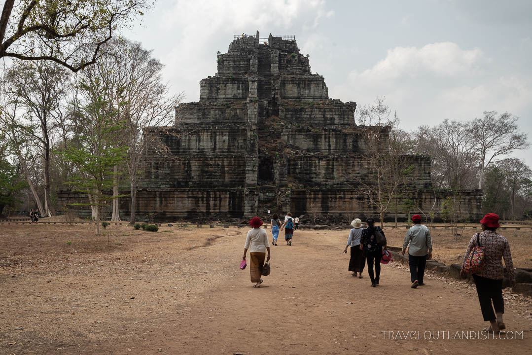 Alternative to Angkor Wat - Koh Ker