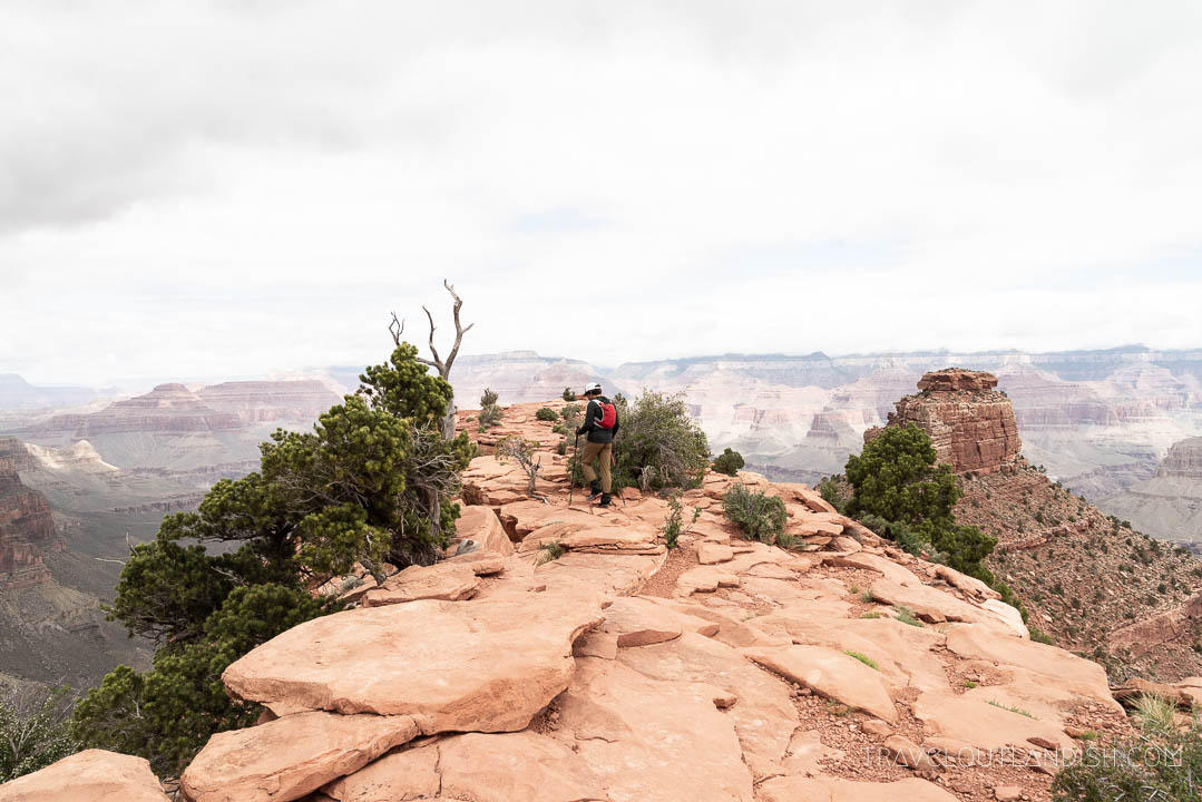 Viewpoints on the South Kaibab Trail