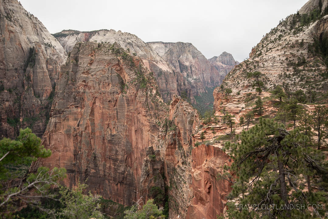 Angel's Landing from the West Rim Trail