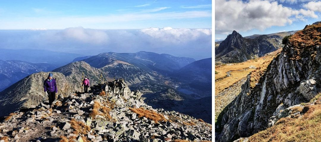 Rila Mountain Trail in Bulgaria