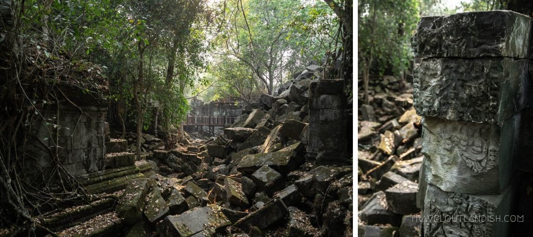 Alternatives to Angkor Wat - Beng Mealea