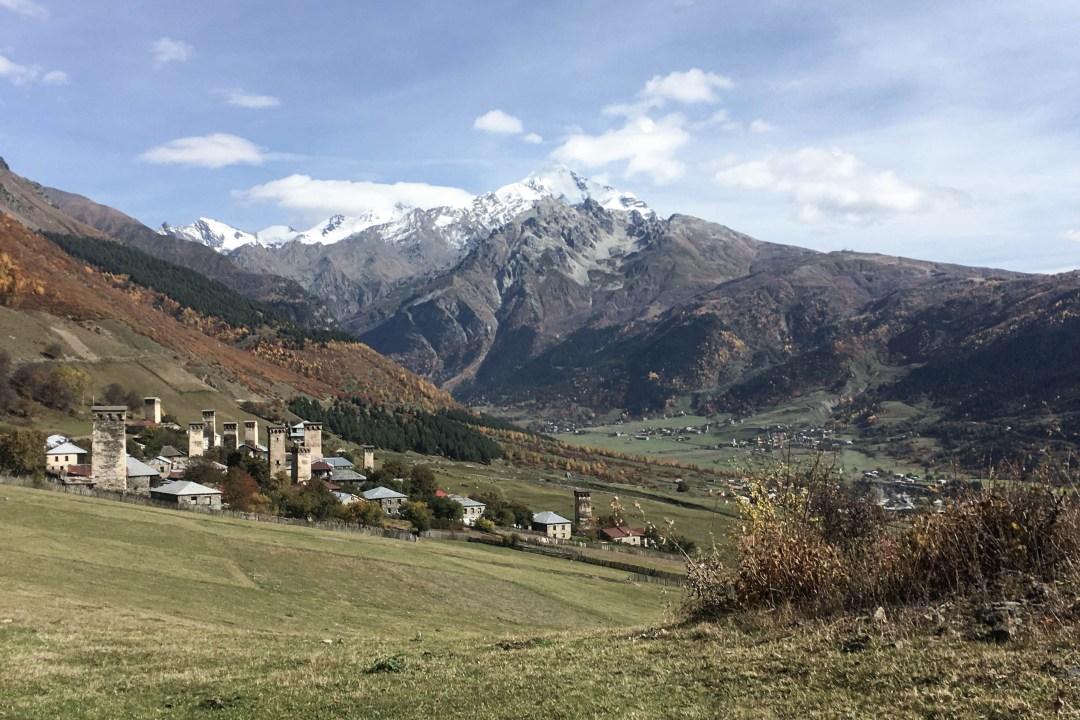 Mestia to Ushguli Trek in Georgia