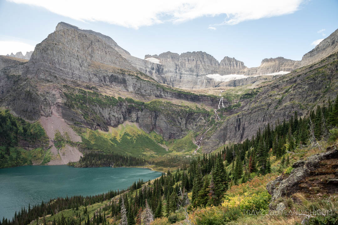 Hiking towards Grinnell Glacier