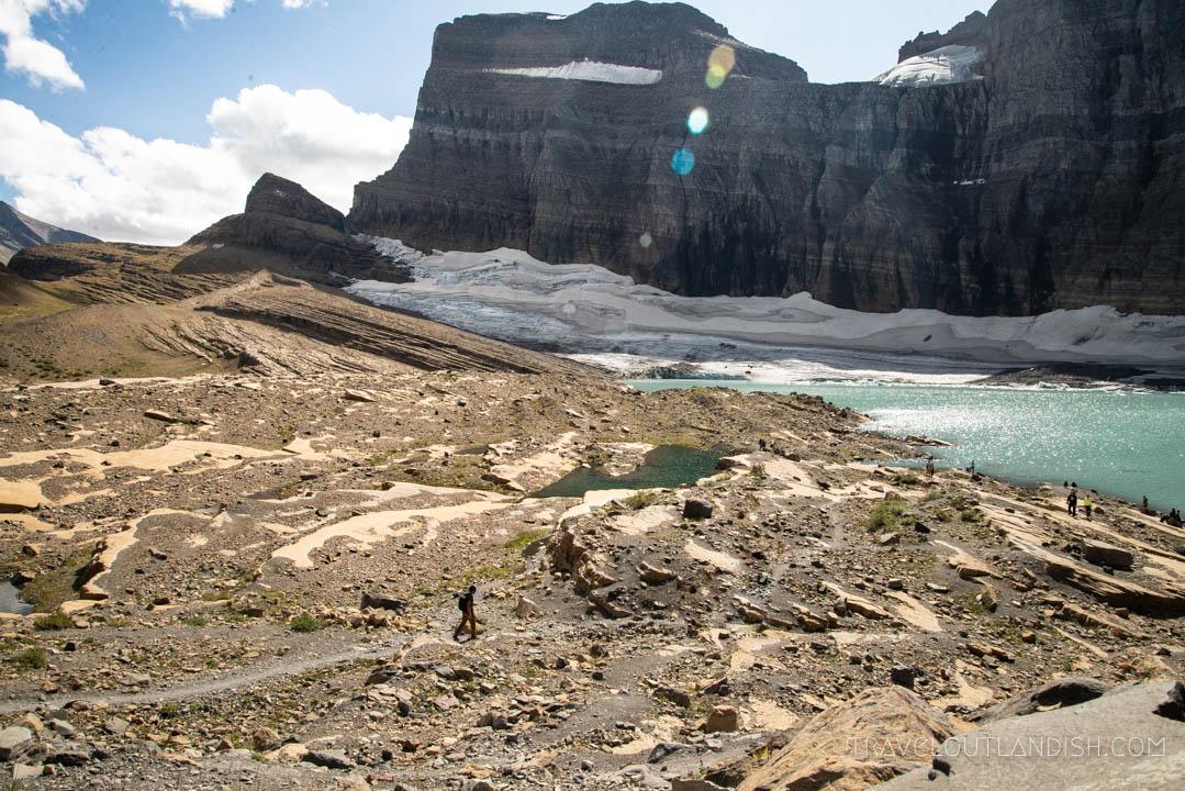 Grinnell Glacier at Glacier National Park