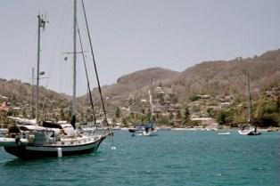 Looking ashore at Admiralty Bay