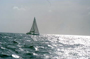 Sailing down to Grenada