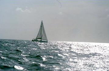 Sailing down to Grenada