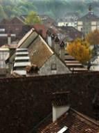 Building tops of Bern