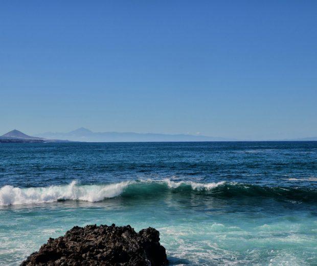 Gran Canaria widok na Teneryfe