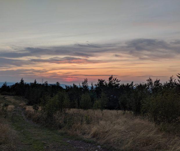 Ćwilin zachód słońca