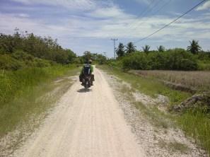 Jalan di Rupat Utara
