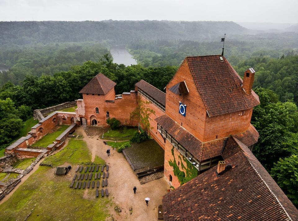 turaida castle sigulda latvia travel past 50