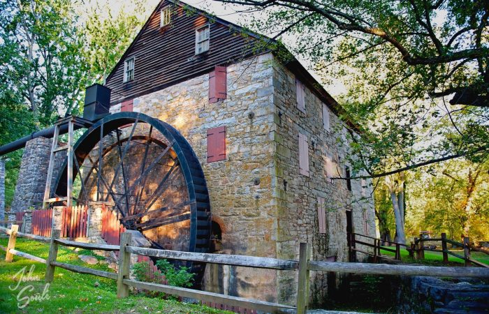 Rock Run Grist Mill - Maryland © John Soule
