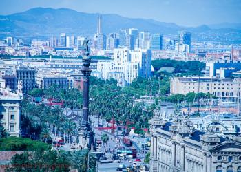 Barcelona panoramic vista
