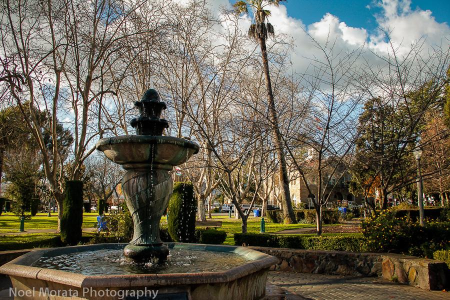 The Main plaza square in Sonoma