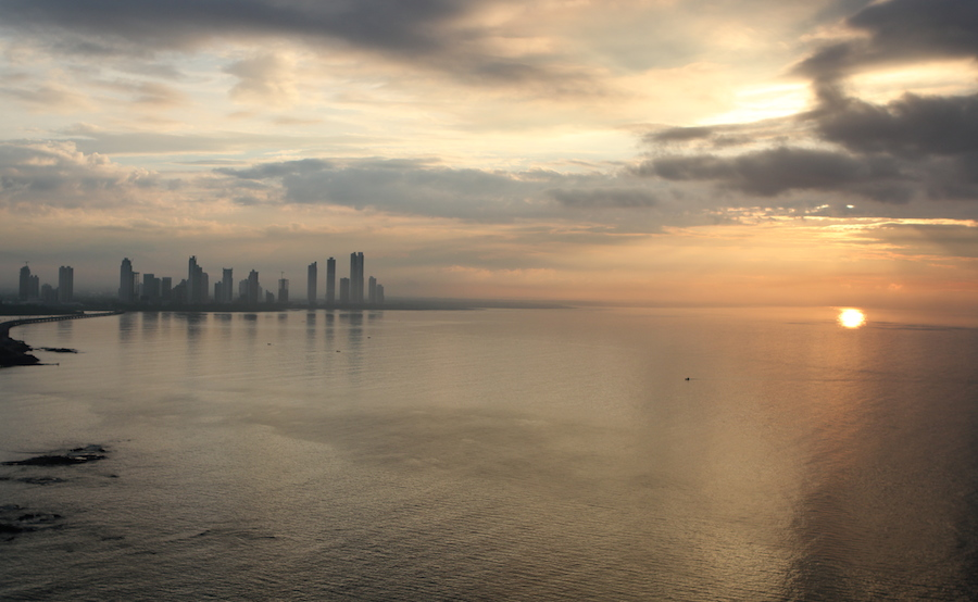 Panama-City-Sunset