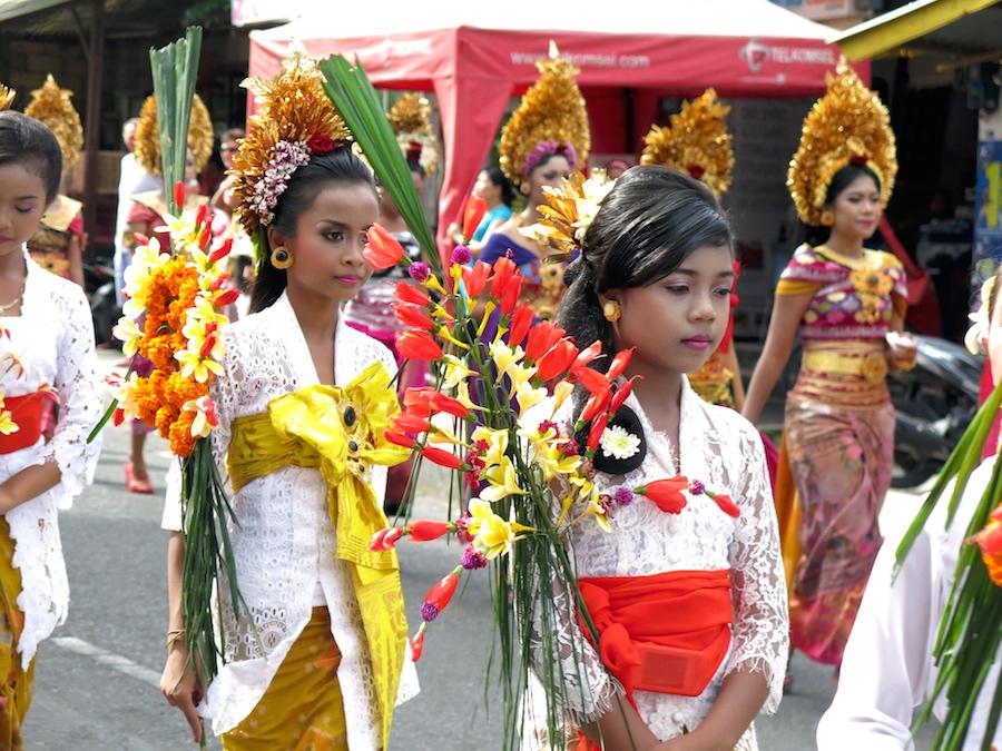 Ubud, Bali a procession