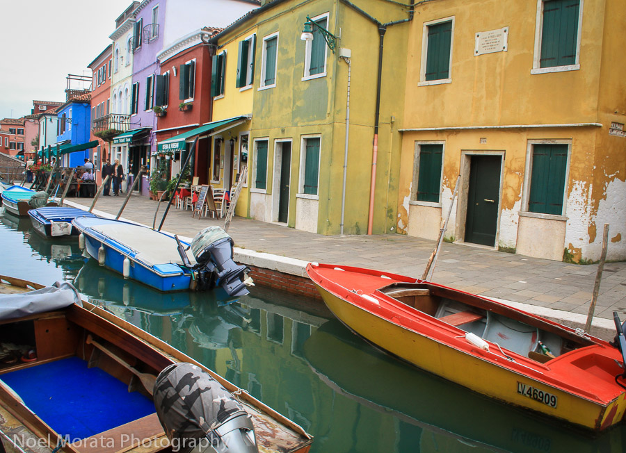 Burano - a rainbow of colors - Travel Photo Mondays #35