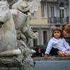 La Passeggiata - an evening stroll in Italy