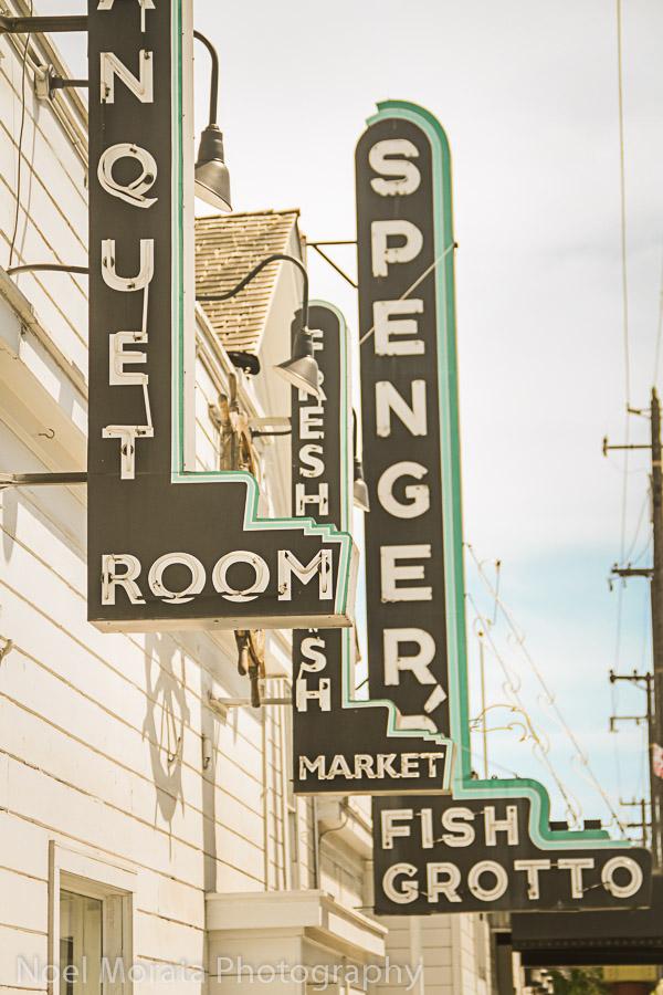 Springers restaurant on 4th Street, Berkeley