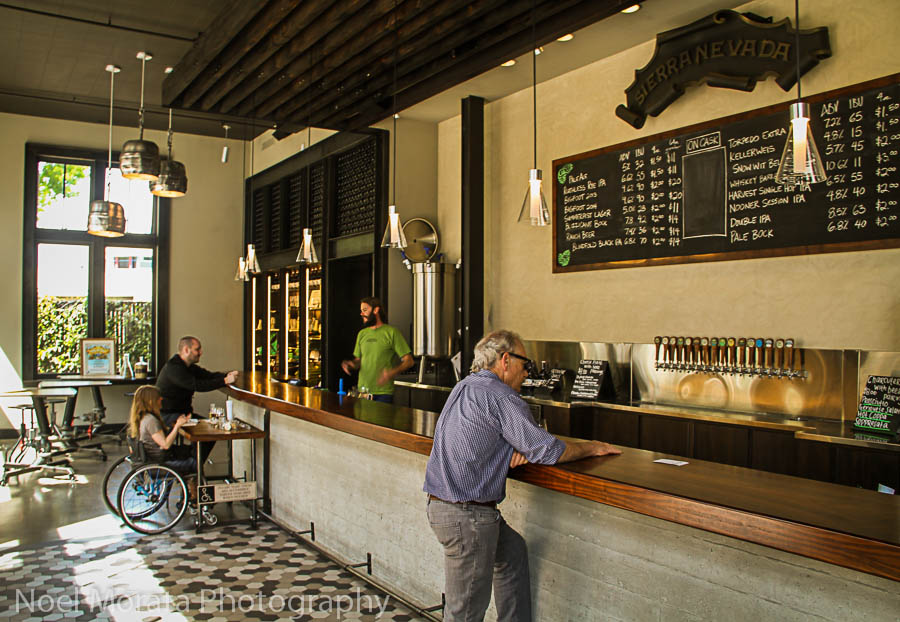 Sierra Nevada beer tasting room on 4th Street