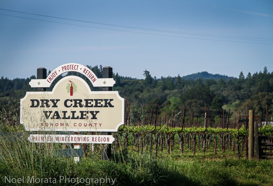 Welcome to Dry Creek Valley, Sonoma