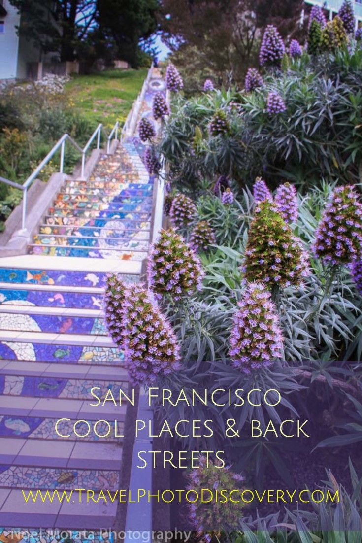 Cool places and backstreets of San Francisco