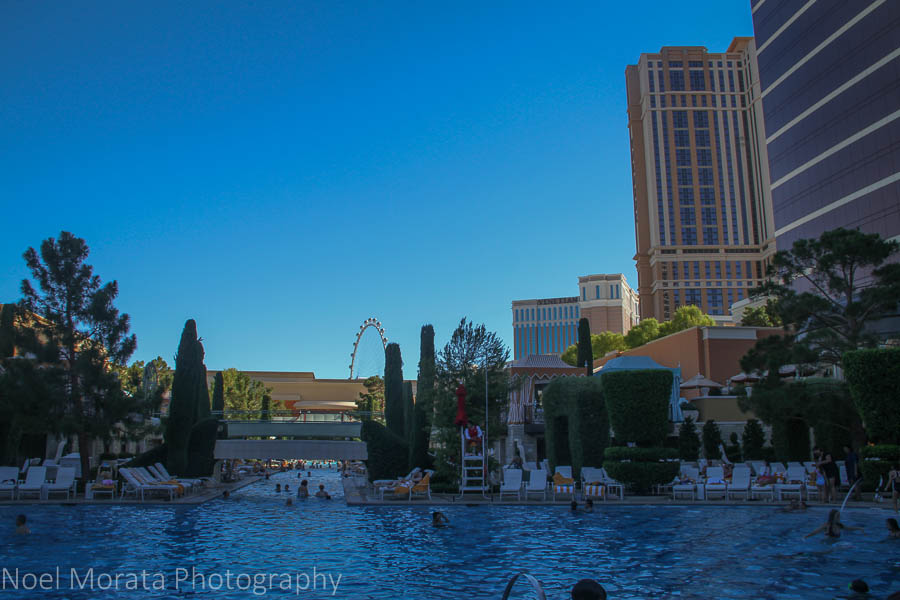 Winn Las Vegas swimming pools