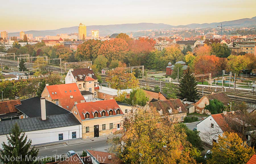 Panorama of the capital at Zagreb