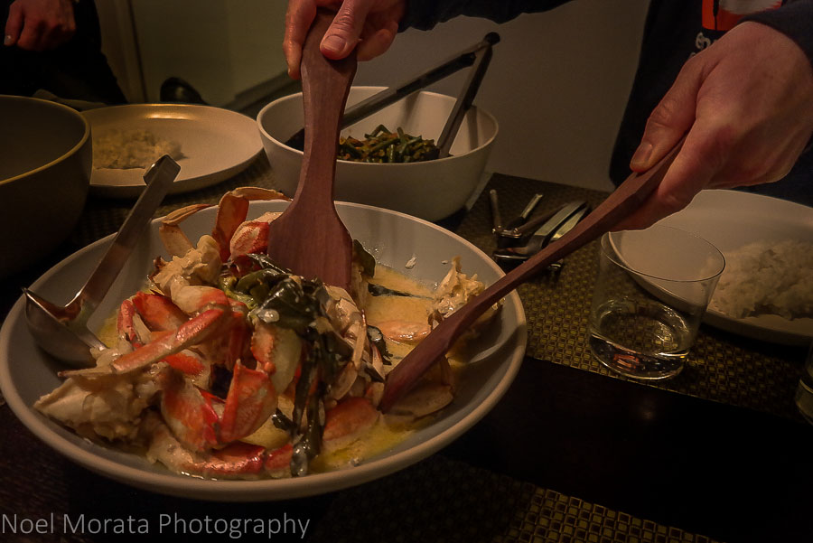 Creamy butter Dungeness crab
