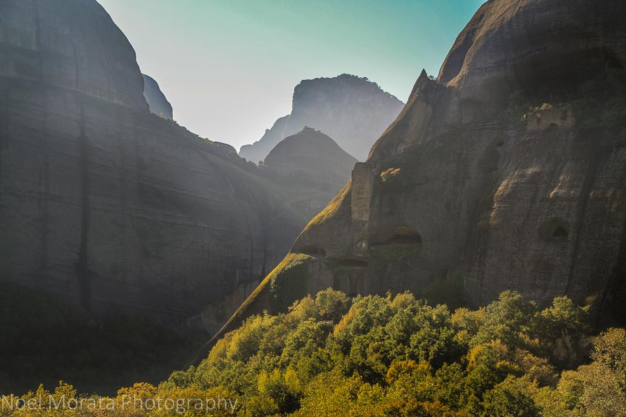 Early morning hike through the western edge of Meteora