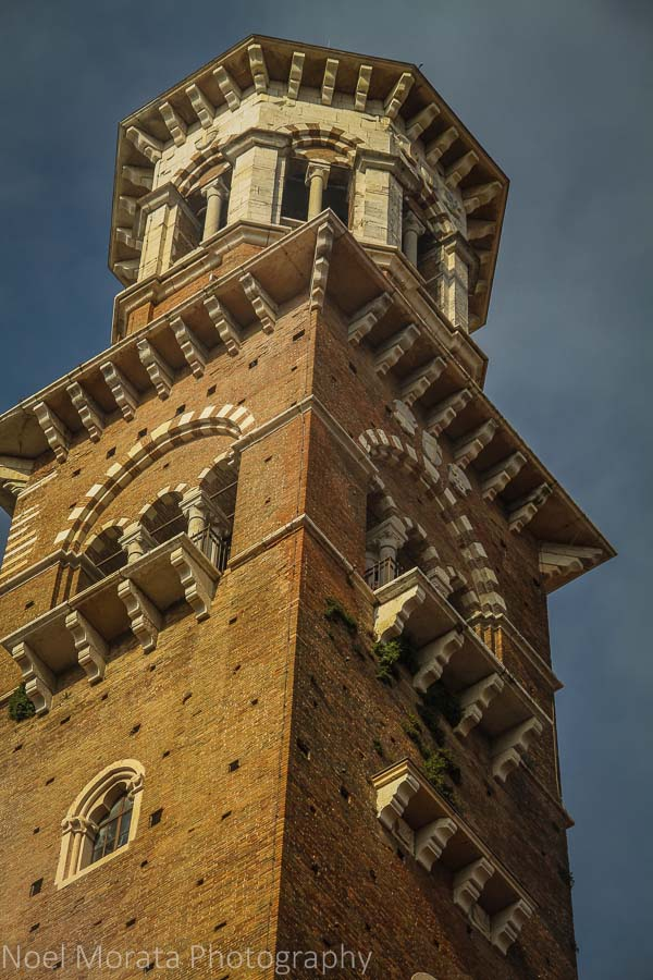 Ornate Venetian tower details and design