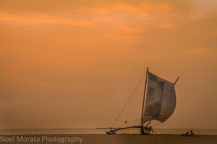 Sri Lanka sunset at Negombo