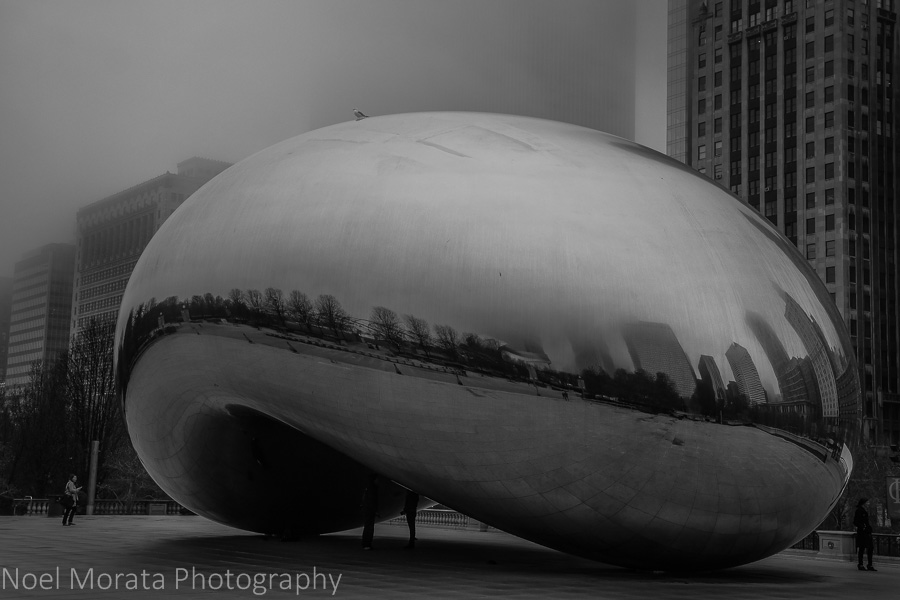 The Bean in Chicago's Millennium park