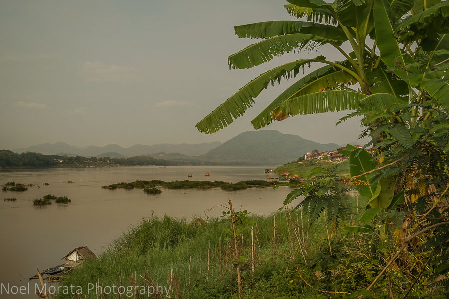 Along the river bank at Chiang Khan, Thailand
