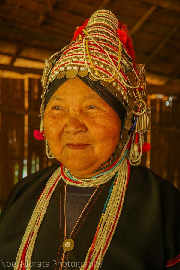 The shaman's wife, Akha village tribe