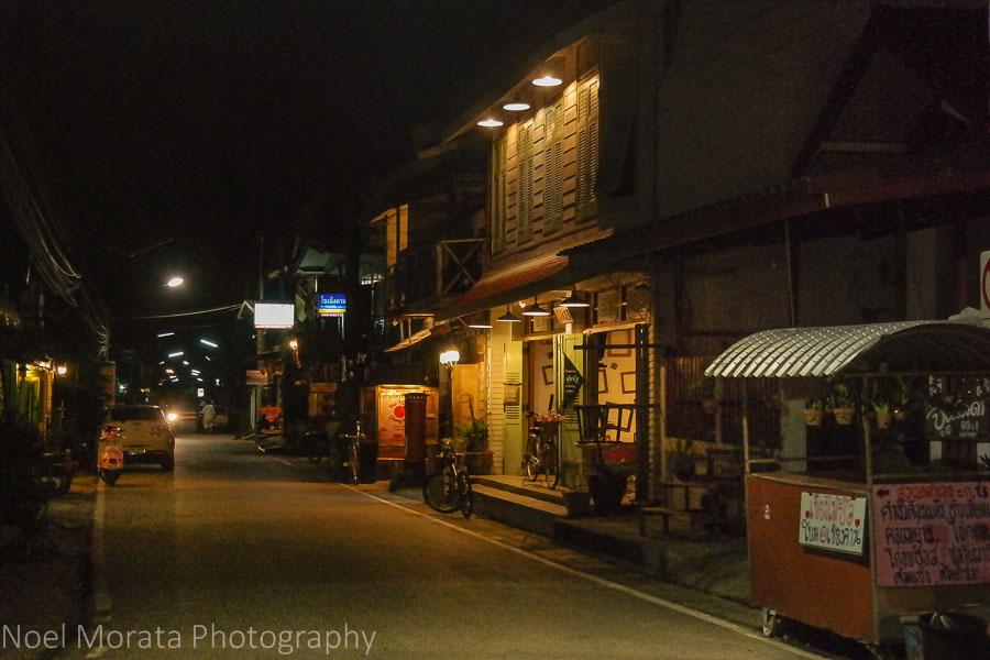 The night market at Chiang Khan