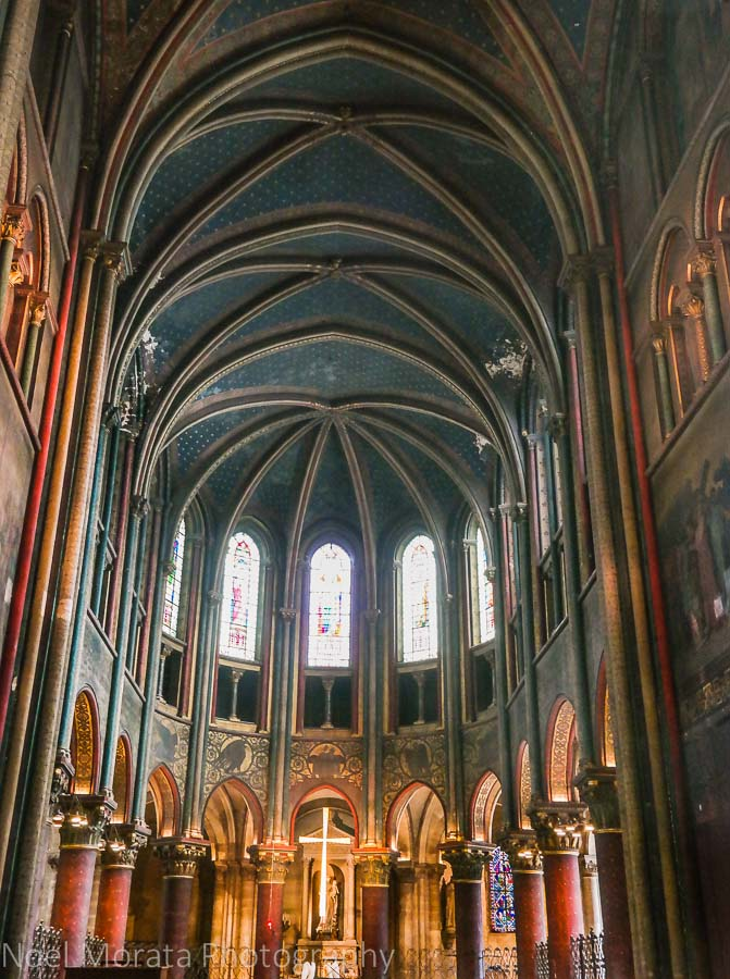 Altar at the Abbey at St. Germain des Pres
