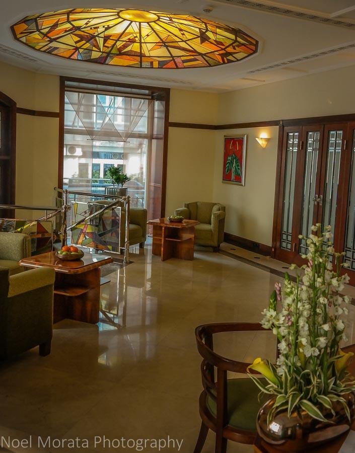 Hotel Rialto, hotel lobby