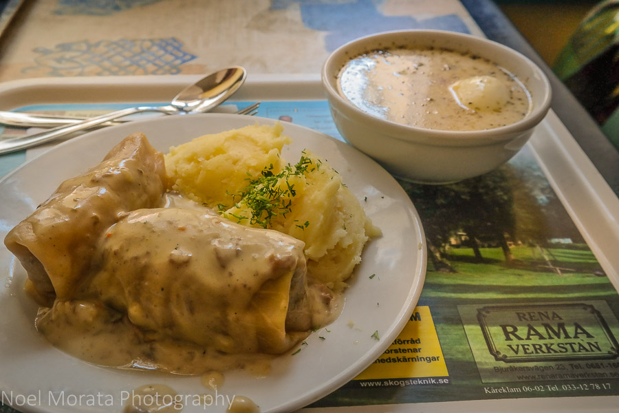 stuffed cabbage rolls called Gołąbki